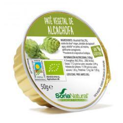 Paté ecológico de alcachofa soria natural