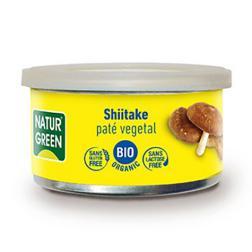 Paté vegetal Shiitake Bio Naturgreen 125g.