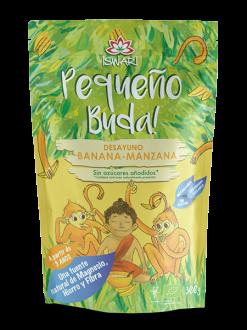 Desayuno Pequeño Buda Banana Manzana Iswari