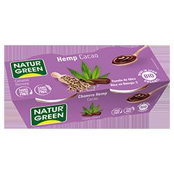 Postre de cañamo hemp y cacao Naturgreen