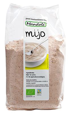 Mijo triturado (puré instantáneo) 250g.