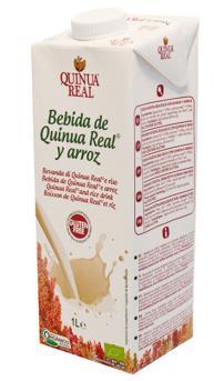Bebida de quinoa real y arroz Quinua Real 1l.