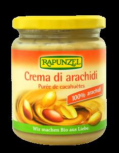Crema de cacahuete bio Rapunzel 250g.