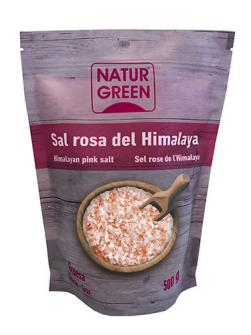 Sal rosa del himalaya gruesa Naturgreen