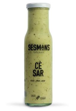 Salsa césar vegana sin gluten Sesmans