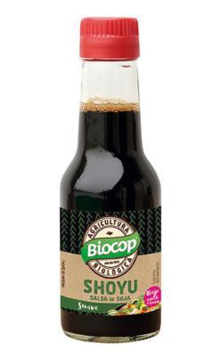 Salsa de soja Shoyu Biocop 140ml.