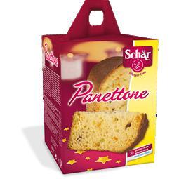 Panettone tradicional sin gluten Schar 180g.