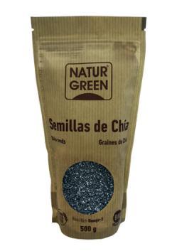 Semillas de chía Naturgreen 500g.