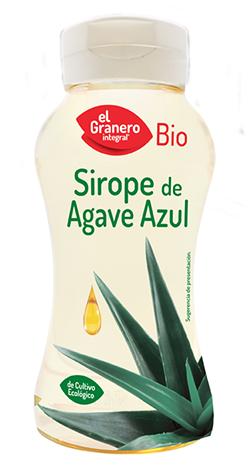 Sirope de agave ecológico El Granero Integral 400g.