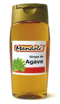 Sirope de agave Mandolé 350g.