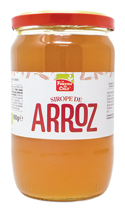 Sirope de arroz bio La Finestra 900ml.
