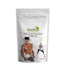 Mezcla de proteínas veganas Salud Viva 250g.