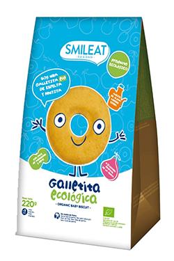 Galletas infantiles de espelta Smileat