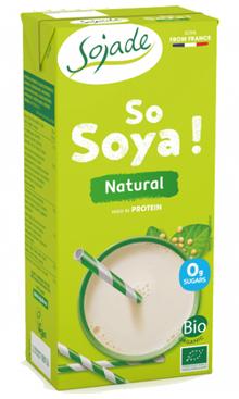 Bebida natural de soja Sojade 1l.