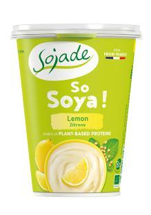 Yogur de soja limón Sojade 400g.