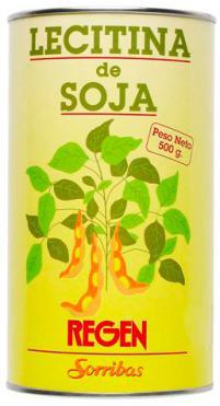 Lecitina de soja Sorribas 500g.