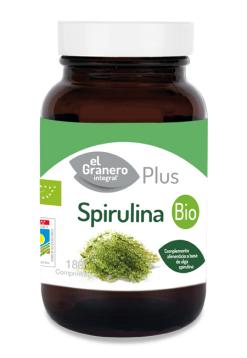 Spirulina bio El Granero Integral 180 comprimidos 500mg.