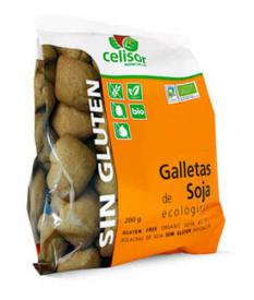 Galletas de soja bio Soria Natural 200g.