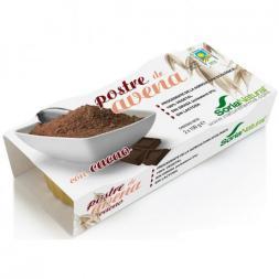 Postre de avena con cacao 2x100g.