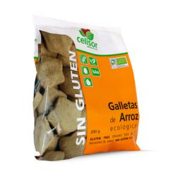 Galletas de arroz ecológicas Soria Natural 200g.