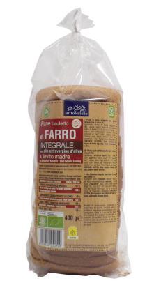 Pan de molde espelta integral Sottolestelle 400g.
