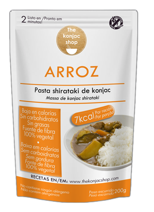 Arroz de konjac The konjac shop 200g.