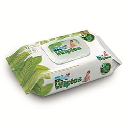 Toallitas húmedas biodegradables Bio Wipies