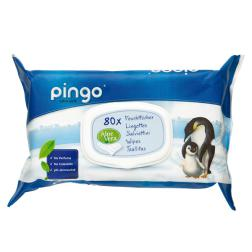 Toallitas Pìngo para bebé 80 unidades