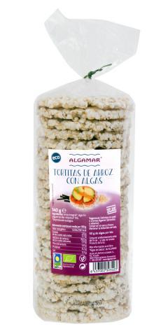 Tortas de arroz y algas Algamar