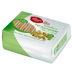 Tostadas de trigo sarraceno sin sal El Granero Integral