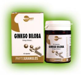 Ginkgo biloba phytogránulos 45 cápsulas