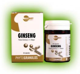 Ginseng phytogránulos 45 cápsulas