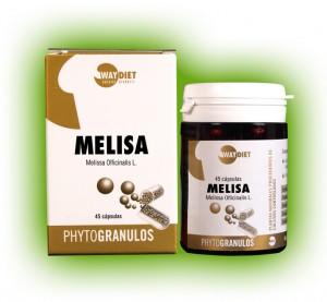 Melisa phytogránulos Way diet 45 cápsulas