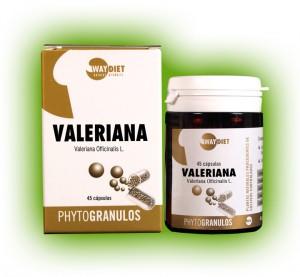 Valeriana phytogránulos 45 cápsulas