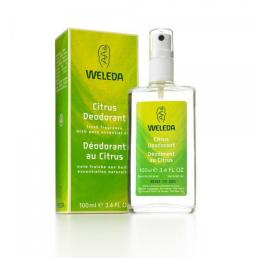 Desodorante citrus spray Weleda 100ml.