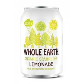 Refresco de limón bio Whole Earth 330ml.