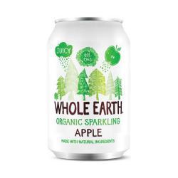 Refresco de manzana Whole Earth 330ml.