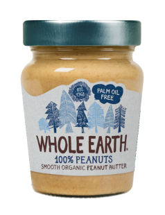 Crema cacahuete Whole Earth 227g.