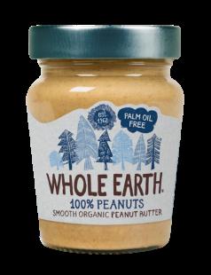 Crema cacahuete Whole Earth 227g.