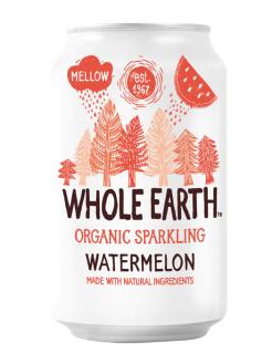 Refresco de sandía (watermelon) Whole Earth