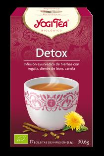 Infusión detox (purifica) Yogi Tea 17 bolsitas