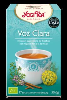 Infusión Voz Clara Yogi Tea 17 bolsitas en Biosano