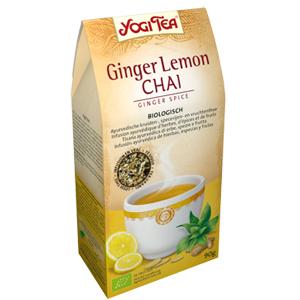 Infusión Chai Jengibre Limón Yogi Tea 90g.