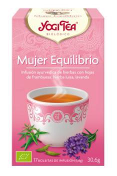 Infusión Mujer Equilibrio Yogi Tea 17 bolsitas