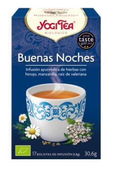 Infusión Buenos sueños Yogi Tea 17 bolsitas