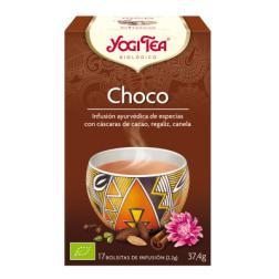 Infusión Choco Yogi Tea 17 bolsitas