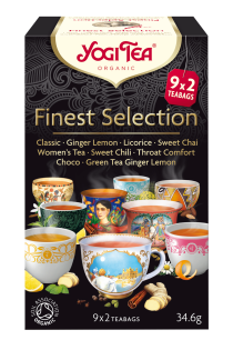 Finest Selection Yogi Tea (9 variedades) 18 bolsitas