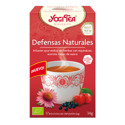 Infusión Defensas Naturales Yogi Tea