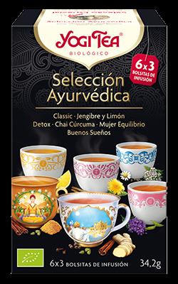 Selección ayurvédica Yogi Tea 18 bolsitas
