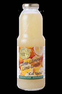 Zumo limón ecológico Cal Valls 1 litro